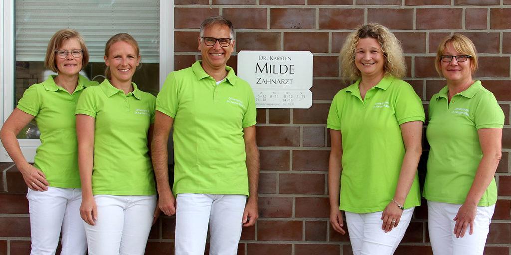 Zahrnarztteam Dr. Milde